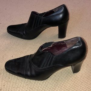Coach Genna Black Ankle Boots - size 7.5